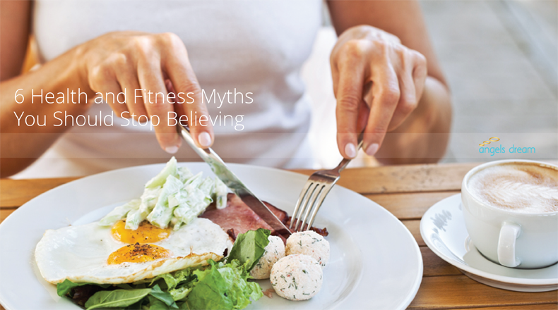 6 Health and Fitness Myths You Should Stop Believing