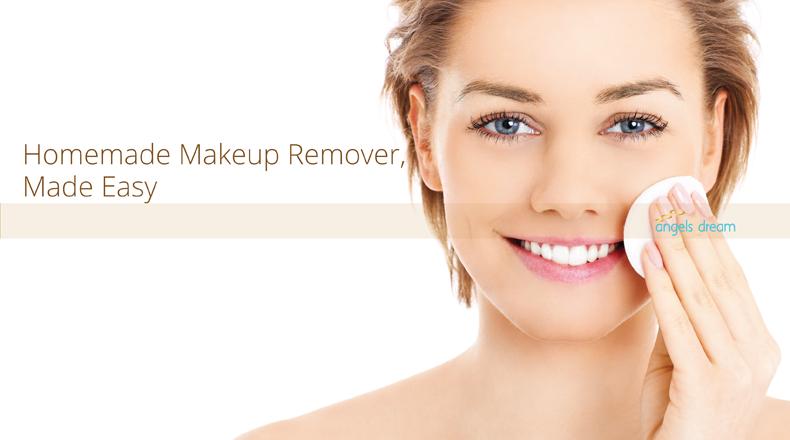 Homemade makeup remover, make easy