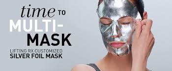Best Facials Singapore with Babor Lifting Silver Foil Face_Mask